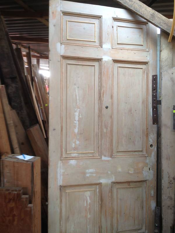 External 6 panel imperial door (needs some attention, please ring to discuss)14546692147778