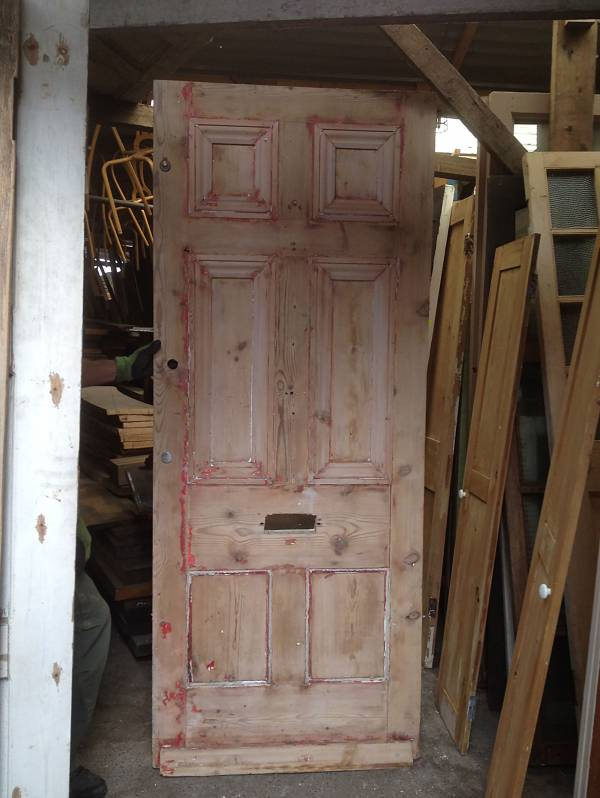 imperial six panel door (restoration project)  Width 860mm Height 2120mm Depth 50mm £110 14546692162819