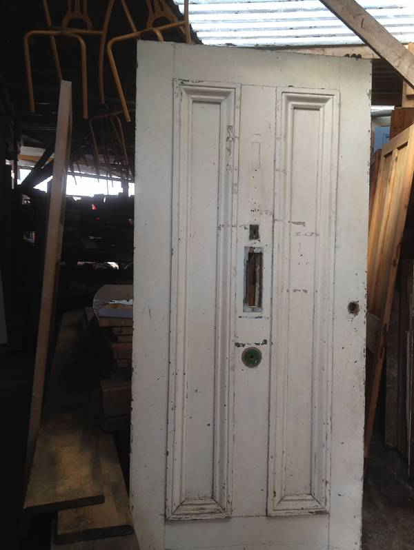 White Victorian two panel, Raised and fielded. 14546692176979